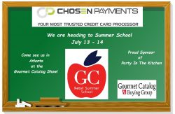 Chosen Payments heads off to Summer School in Atlanta
